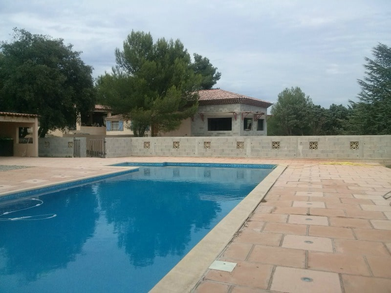 Mosaïque piscine